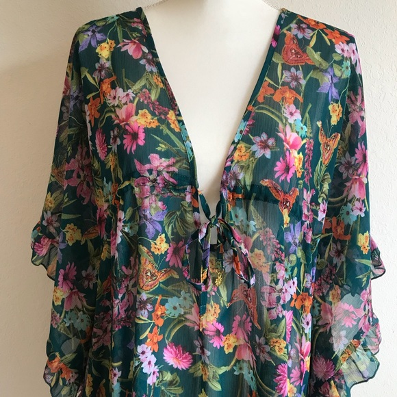e111557029 Jessica Simpson Swim | Nwt Butterfly Suit Cover Up L | Poshmark
